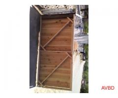 Wood fence building and repair