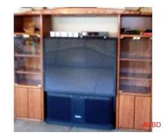 Wall Unit + HDTV