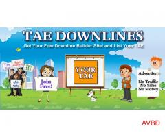 Get you free TAE Downline Builder Site!