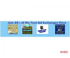 Join All 4 of My Text Ad Exchanges