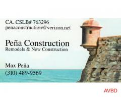 Peña Construction