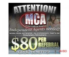 Become a Mca Referral Agent !!