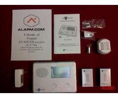 NO contract wireless Alarm systems DIY installs with no holes
