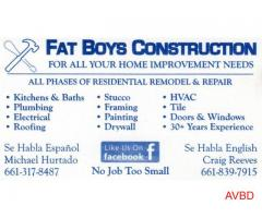 Fat Boys Construction