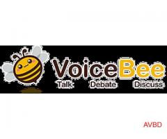 A New Social Site Called VoiceBee.com