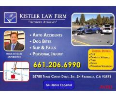 Attorney: Personal Injury/ Criminal Defense