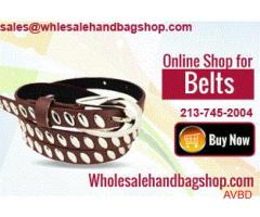 Huge Sale on Wholesale Belts