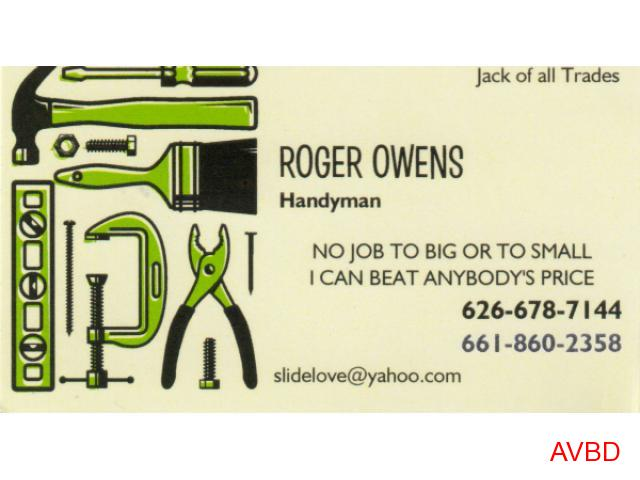 Roger Owens Handyman Services